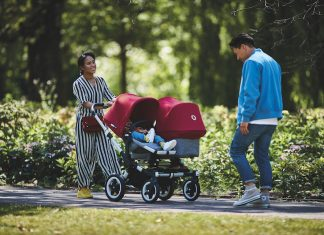 Bugaboo Donkey 2 in twin mode