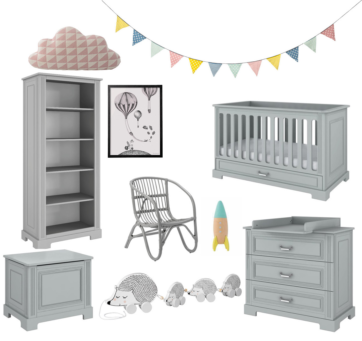 grey furniture nursery. Grey Is The Perfect Modern Neutral Colour For A Nursery, And No Wonder It So Popular, Exuding Sense Of Sophisticated Elegance Serene Calm. Furniture Nursery S