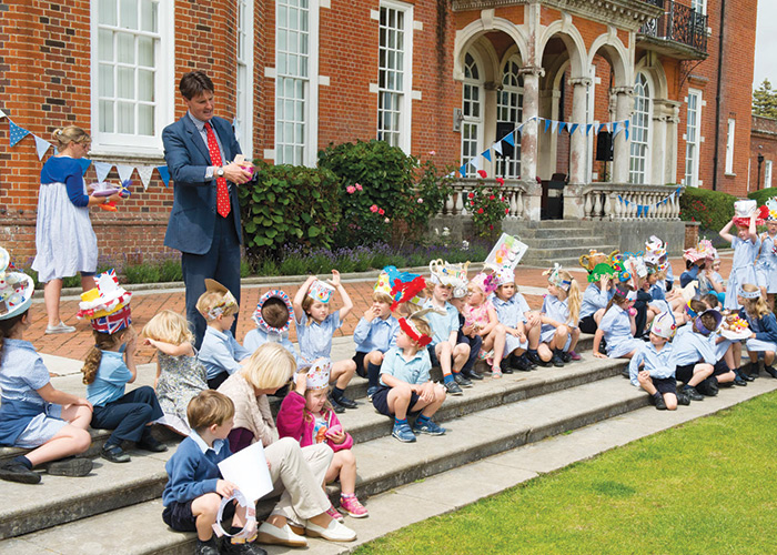 Meet the head of Walhampton School