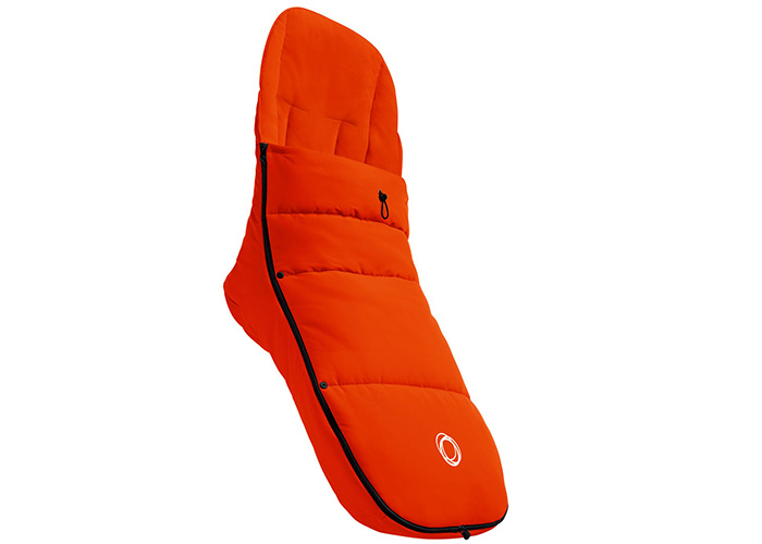 Bugaboo-Footmuff-Orange-£94.95