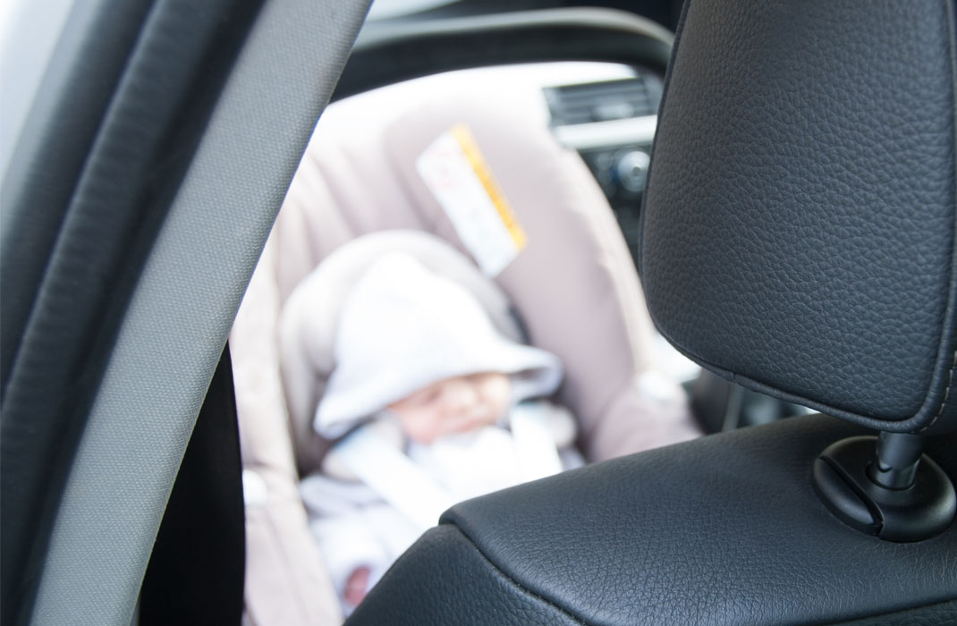 Risks for newborns travelling in car seats for long periods of time ...