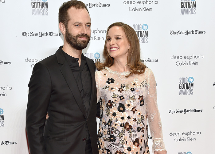Natalie with husband Benjamin Millepied. Image courtesy of Press Association
