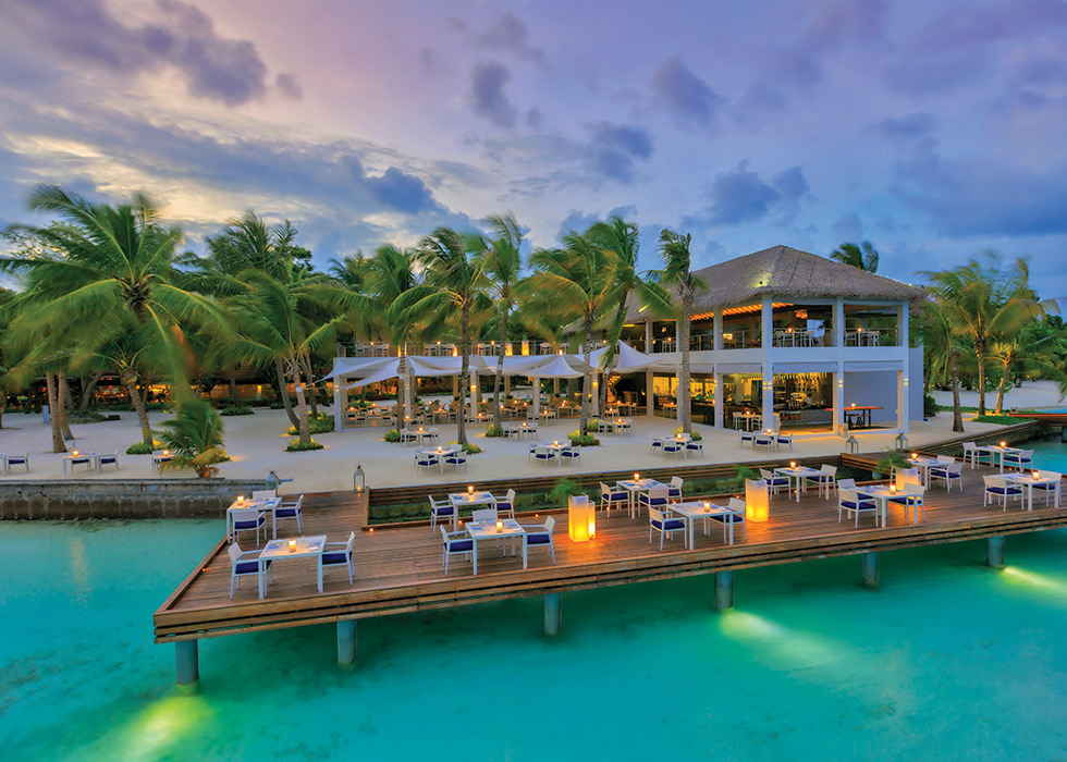 Yep, that's right - you could be holidaying right here - Kurumba Maldives - just for voting!