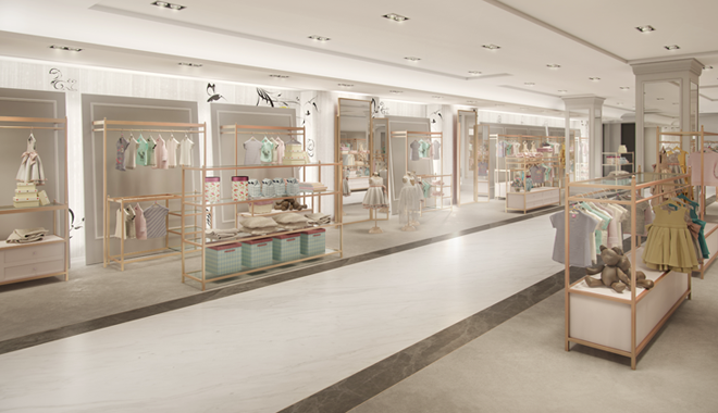 Bon This Autumn, Explore A Luxurious New Shopping Space Located In  Childrenswear On The Fourth Floor Of Harrods. The New Baby Layette, Nursery,  Furniture And ...