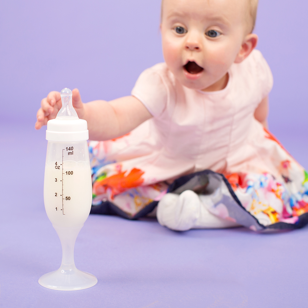 A fabulous champagne flute shaped baby bottle from tenbadownload.ga - Only £ today.