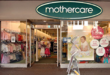 Mothercare shop front