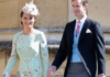 Pippa Middleton and James Matthews at The Royal Wedding of Prince Harry and Meghan Markle