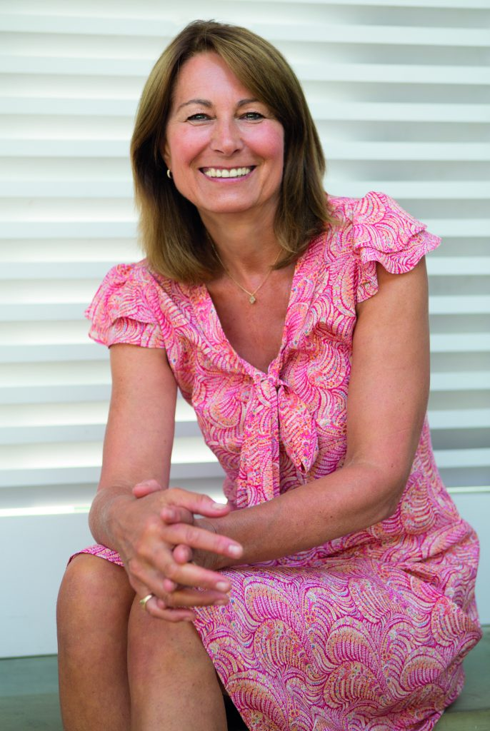 Carole Middleton Speaks About Baby Showers And