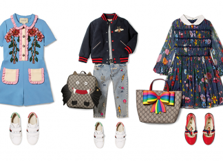 Gucci childrenswear at Net-A-Porter