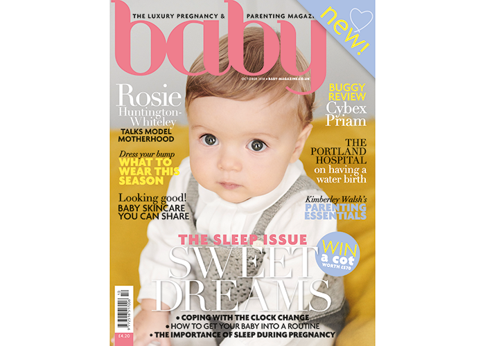 Baby magazine October issue