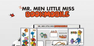 Mr Men bookmobile