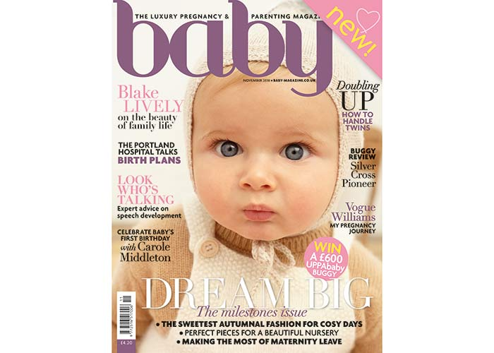 Baby magazine November issue