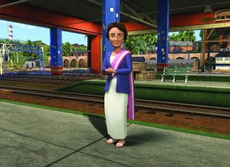Churubala-female-railway-controller-india-thomas-and-friends