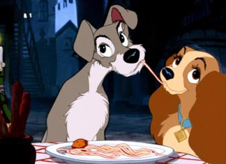 Lady and the Tramp spaghetti, Disney