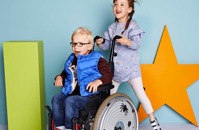 M&S Easy Dressing clothing for disabled children