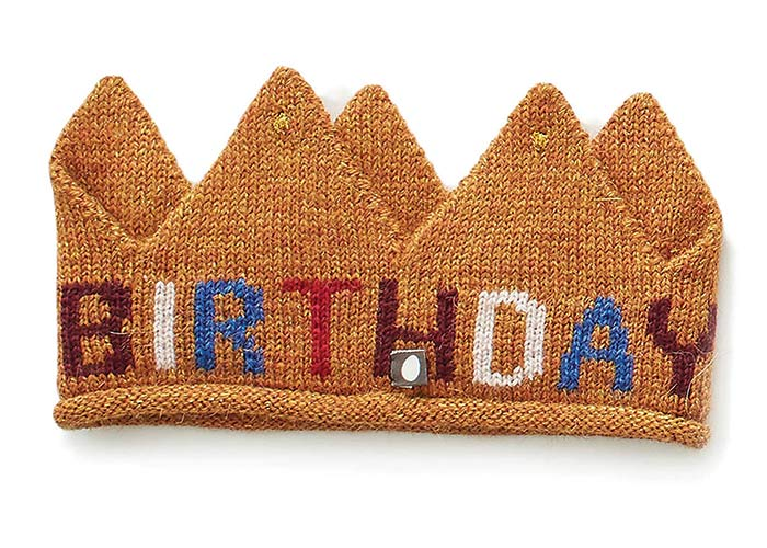 Oeuf NYC birthday crown