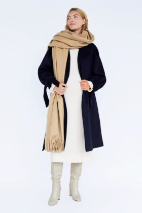zara maternity coat