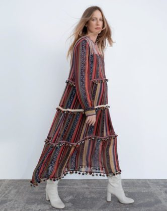 zara maternity dress