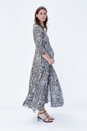 zara maternity maxi dress