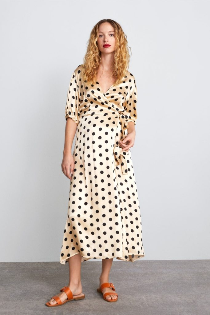 zara-uk-maternity-polkadot-wrap-dress