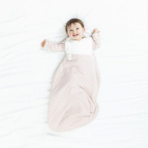 Baby model in Clever Sleeping Bag
