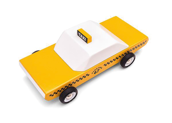 Candylab yellow taxi toy