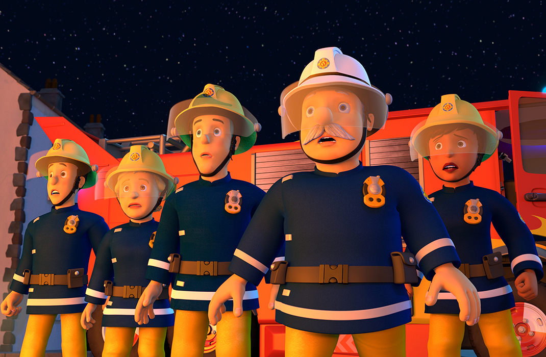 It is a picture of Magic Fireman Sam Pic