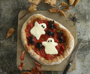 Ghoulish Ghost Pizza