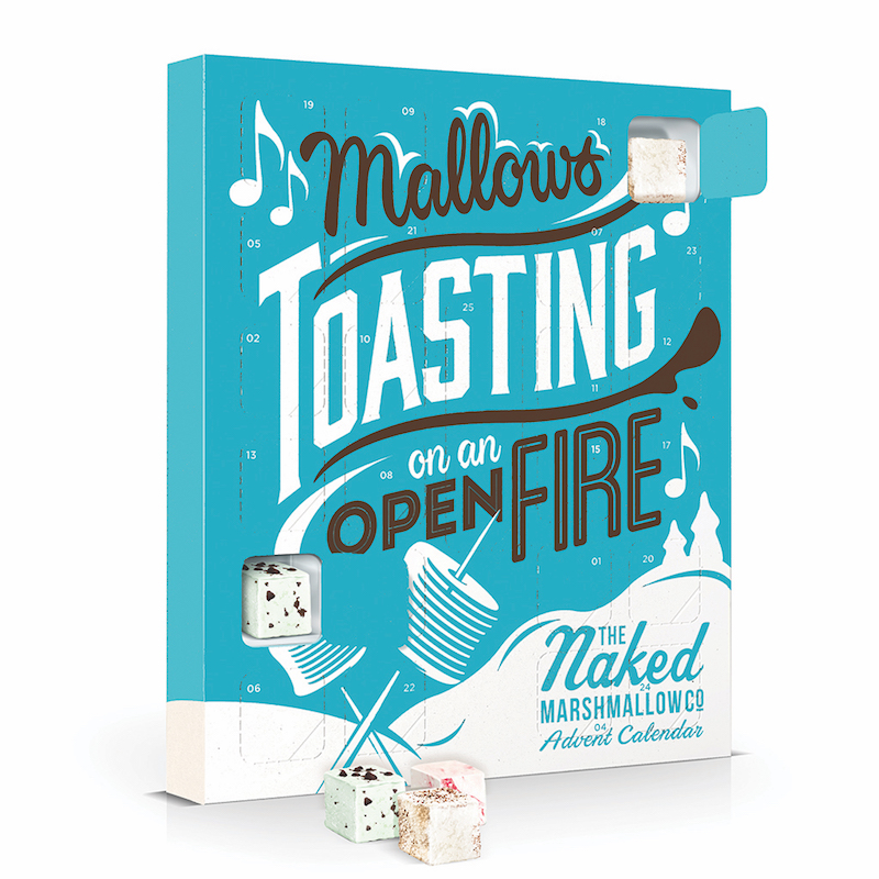 Naked Marshmallow Co Advent Calander Christmas 2018