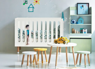 Nubie nursery lifestyle shot