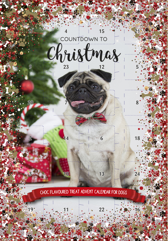 Pets at Home dog advent calendar