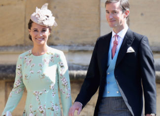 Pippa Middleton and James Matthews at Prince Harry wedding