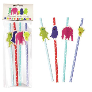 Rex London Monster Straws
