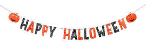 Sass & Belle - Happy Halloween Paper Bunting Decoration