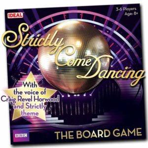 Stricly Come Dancing board game