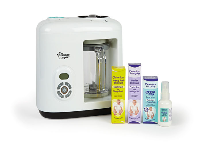 Tommee Tippee blender and Metanium products