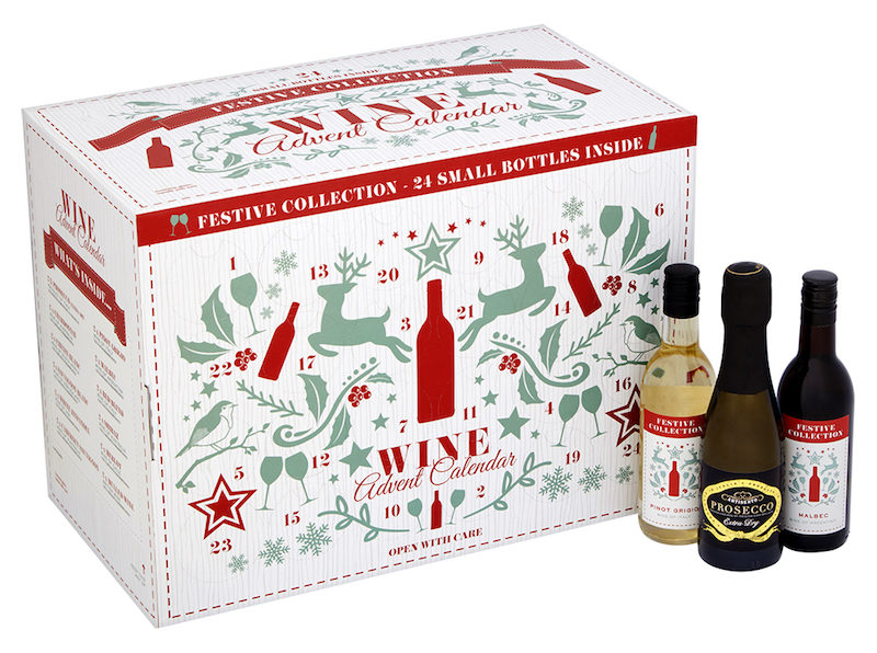 Wine Prosecco Advent Calendar Christmas 2018