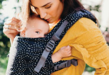 Boba X baby carrier lifestyle shot