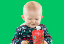 Ella's Kitchen Jingle Belly Christmas pouch