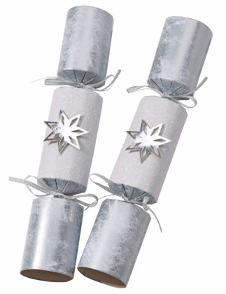Silver Christmas crackers