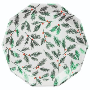 festive-paper-plates-baby-christmas