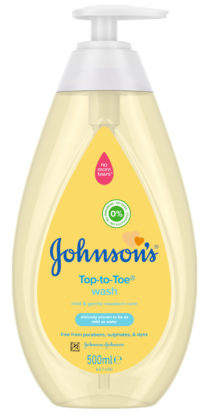 Johnson's Top-to-toe wash