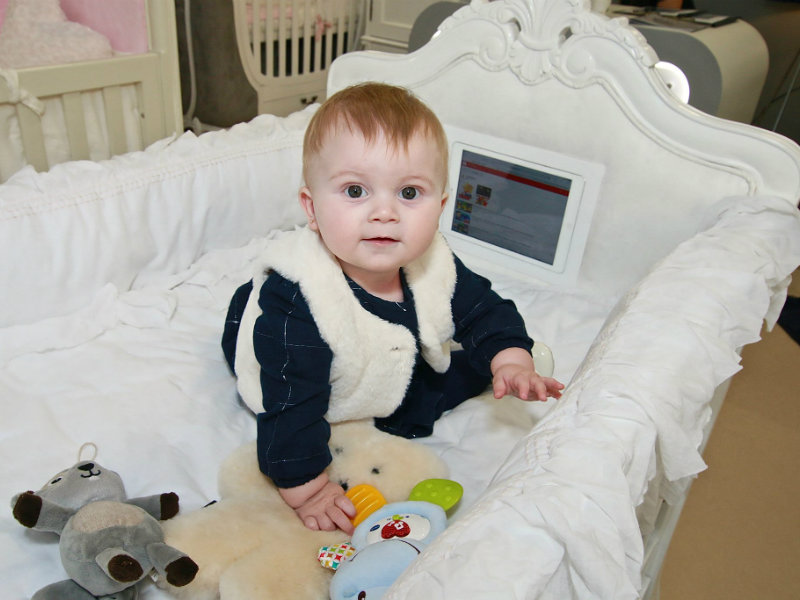 This Cot With a Built-in iPad is Causing a HUGE Stir Online