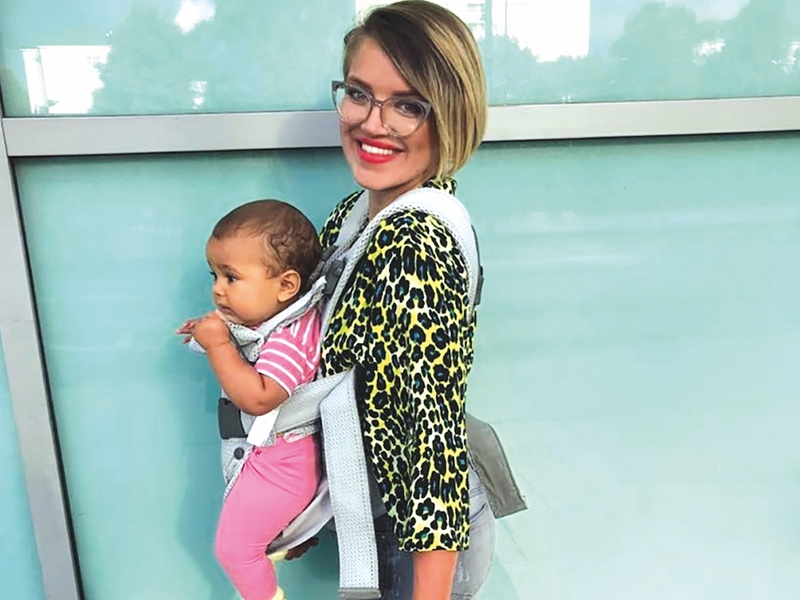 01757684e08 The Babybjörn One Air Baby Carrier Review - Baby Magazine