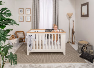 Boori cot bed lifestyle shot Win a Boori cot bed
