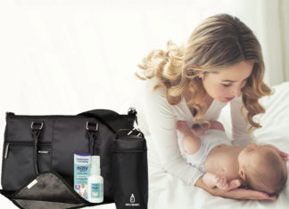 Melotote changing bag Metanium competition mum and baby Win a Melotote Changing bag With Metanium