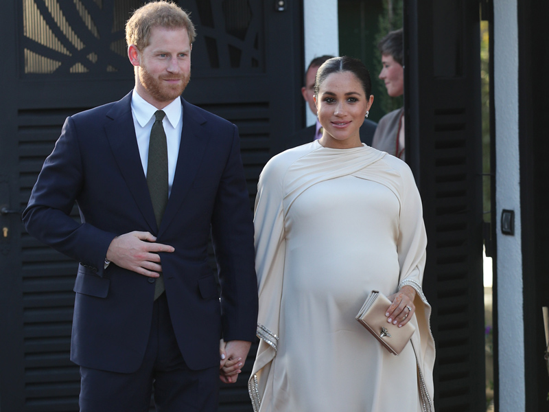 Duke and Duchess of Sussex in Morocco Baby Magazine Latest Issue: May 2019