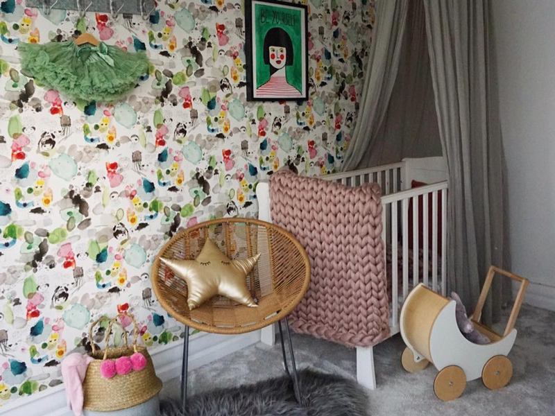 Come Down to the Woods blogger nursery Baby Magazine Latest Issue: May 2019