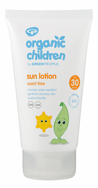Organic Children Sun Lotion