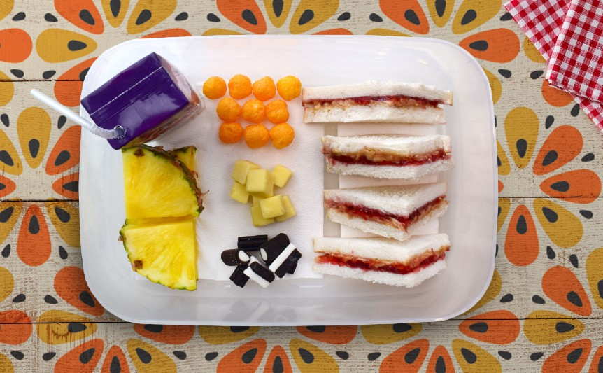 1970s lunch
